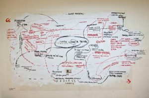 Globalising Dissent wall-map