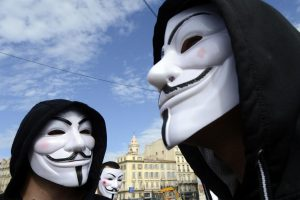 anonymous private social network